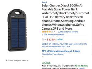 solar charging bible player